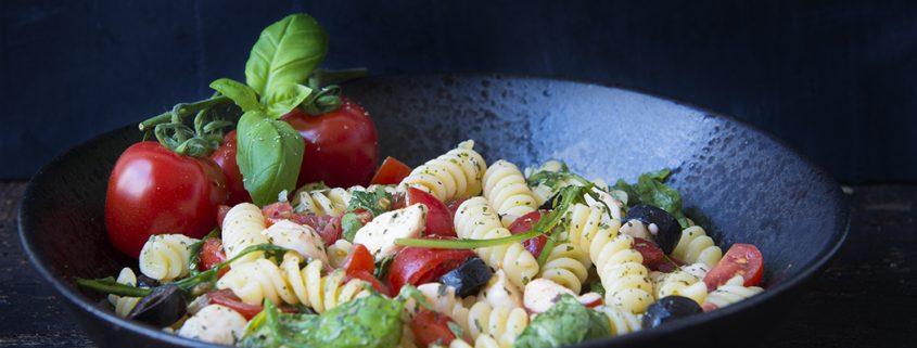 weekaanbieding insalata di pasta caprese