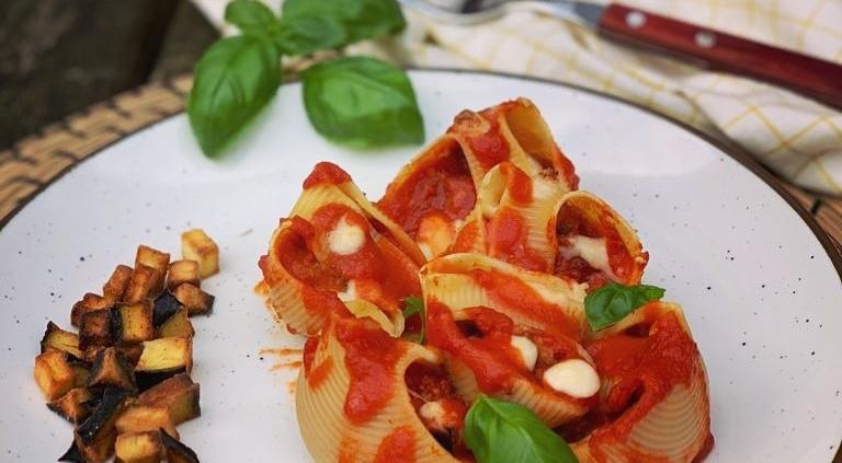 puur deliz weekspecial lumaconi alla parmigiana