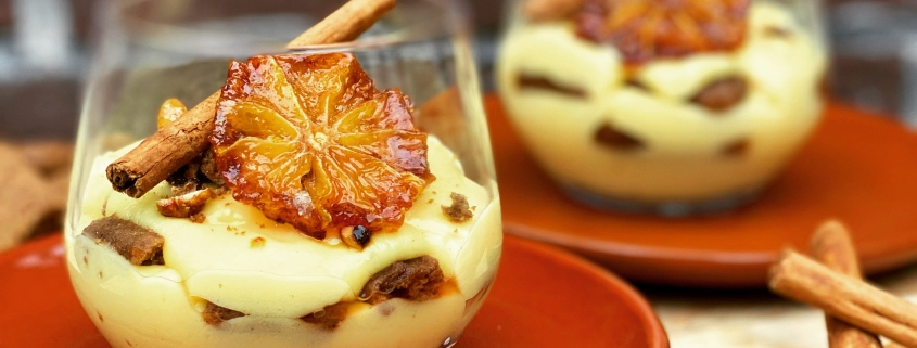 Puur Deliz speculaas zuppa inglese